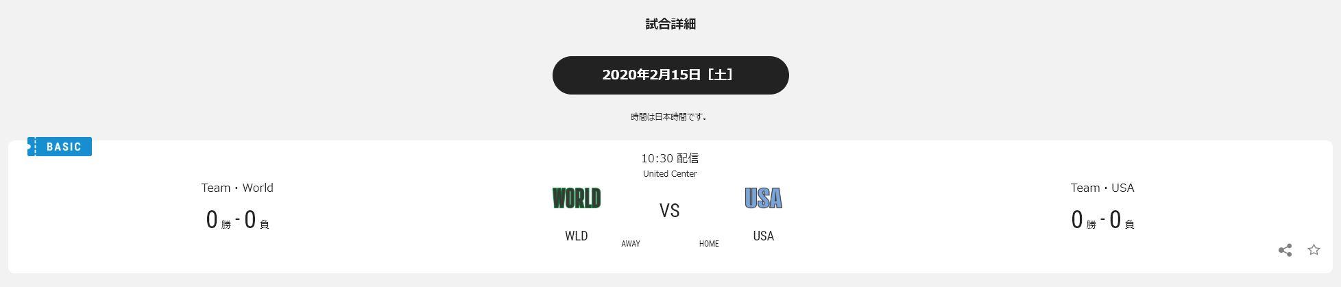 NBAライジングスターはNBA RakutenのBasic Passで視聴可能(初月無料お試しアリ)